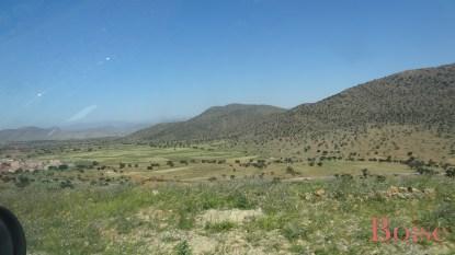 Direction Illigh en traversant des paysages fabuleux