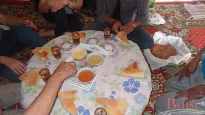 L' accueil des marocains ne se dément jamais.